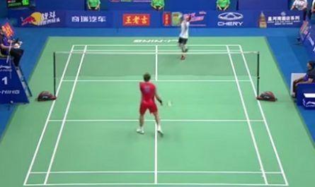 volante, red, raqueta, badminton, punto, golpe canalmenorca.com