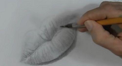 Aprende a dibujar una boca y unos labios (paso a paso)
