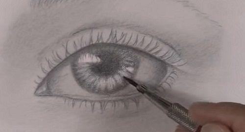 Aprende a dibujar un OJO realista, paso a paso