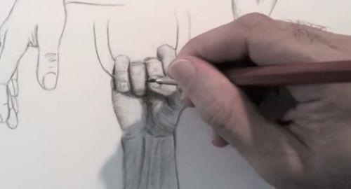 Aprende a dibujar manos (paso a paso)