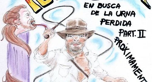 Pedro Sánchez en busca de la urna perdida