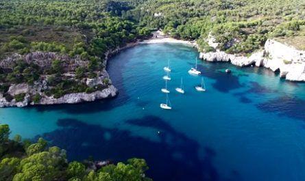 menorca, playas, calas, dron, 4k canalmenorca.com