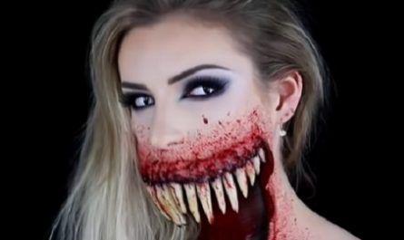 halloween, maquillaje, terrorifico, vampiro, gótica, calavera canalmenorca.com