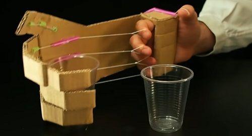 Cómo hacer una MANO ROBÓTICA de CARTÓN
