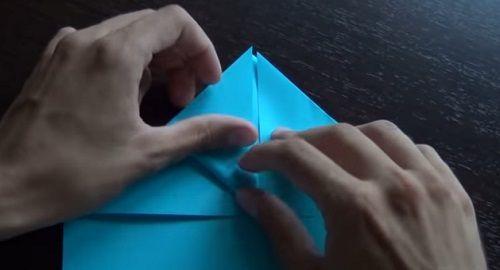 AVIÓN DE PAPEL – Excelente vuelo – Papiroflexia