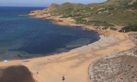 Reserva marina, Binimel-la, Es Mercadal, arena rojiza, cala, playa, menorca, canalmenorca.com