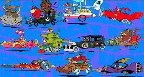 Los AUTOS LOCOS de Hanna-Barbera