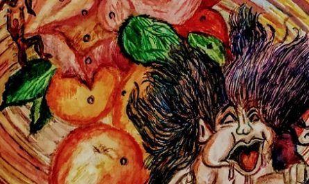 cómic, viñeta, dibujo, dibujante menorquín Tommy knockers, niño malcriado, frutero insano, elefante voladora, canalmenorca.com, racomic.com