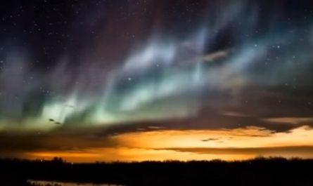 Aurora polar, brillo, luminiscencia, hemisferio, Pierre Gassendi, James Cook canalmenorca.com
