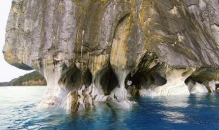 cueva, mármol, patagonia, chile glaciar, esculpir, lago azul, laga general carrera, canalmenorca.com
