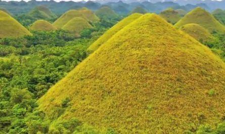 colinas chocolate, Bohol, Filipinas, concos, formación geológica, Unesco, canalmenorca.com