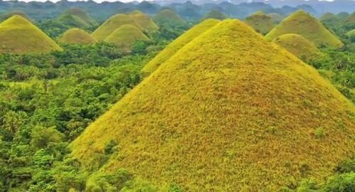 Colinas de CHOCOLATE en BOHOL, Filipinas
