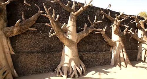 El JARDÍN de PIEDRAS de Chandigarh, India «Rock Garden»