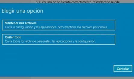 Informática, Windows 10, Pc, Portátil, ratón, disco duro, aplicaciones, configuración, archivos personales, Cómo restaurar el PC a su estado de fábrica (Windows 10), mantener mis archivos, recuperación pc, Actualización y seguridad, canalmenorca.com