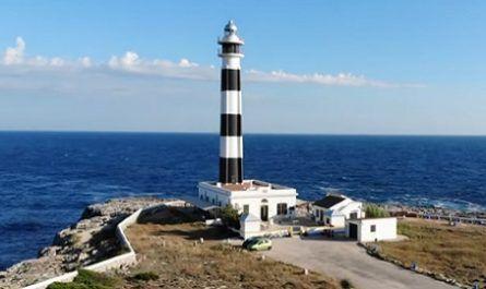 Faro, cabo, buque, naufragio, monumento, artrux, alumbrado, patrimonio, automatizado, ciudadela, ciutadella, canalmenorca.com