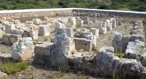 BASÍLICA Paleocristiana de SON BOU ( Menorca )