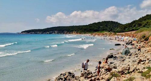 Playa de BINIGAUS,  Es Migjorn Gran