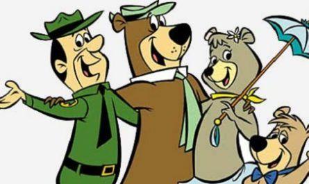 Dibujos animados, Televisión, animación, episodios, oso yogui, antropomorfo, Hanna-Barbera, Show de Huckleberry Hound, NBC, parque Yellowstone, Bubu, Boo-Boo, Guardabosques, John francis smith, Cindy, Yogi Bear, canalmenorca.com