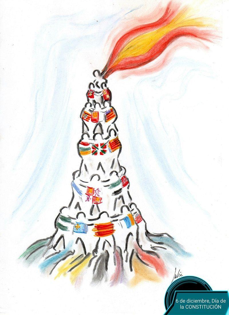 cómic, viñeta, dibujo, tebeo, historieta, arte, caricatura, rincón de julia, Rabiosa Actualidad, Radiaciones Comiqueras, Cómic Digital, navegantes racomiqueros, racomic.com, constitución, festividad, canalmenorca.com