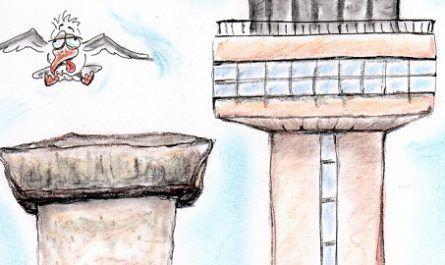 cómic, viñeta, dibujo, tebeo, historieta, arte, caricatura, rincón de julia, Rabiosa Actualidad, Radiaciones Comiqueras, Cómic Digital, navegantes racomiqueros, racomic.com, arquitectura, aeropuerto, canalmenorca.com