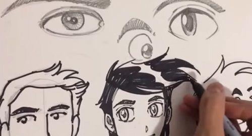 Dibujando OJOS (Manga, Cómic y Toon)