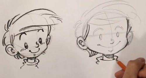 Dibujar CARICATURAS, Rostros y Caras