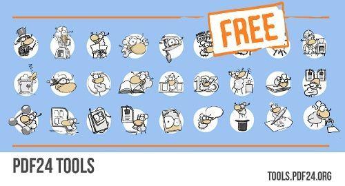 PDF24 Tools, Herramientas PDF en línea gratuitas
