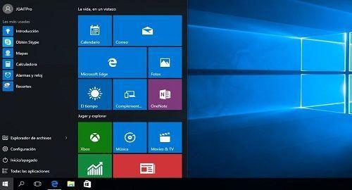 Error Menu de Inicio No Se Abre en Windows 10