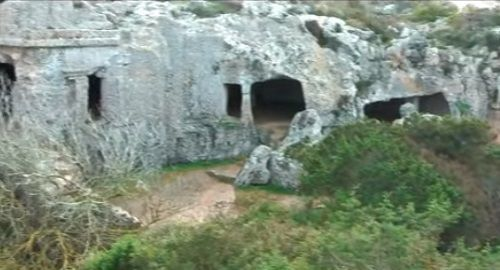 Poblado y Necrópolis de Cala Morell (Ciutadella)