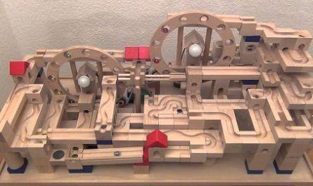 Sistema Canicas, Sistame Cuboro, destreza, experimentación, pista, vias madera, haya natural, 5x5x5cm, túneles, juguete, frabricado suiza, sistema modular, cugolino, EN-71, canalmenorca.com