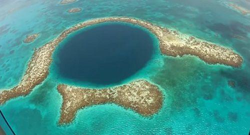 Vídeos increíbles, lugares maravillosos, naturaleza, viajar, explorar, aventura, Agujero azul, Blue Hole, sumidero, Belice, arrecife Lighthouse, edad de hielo, canalmenorca.com
