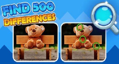 Encuentras las 500 diferencias