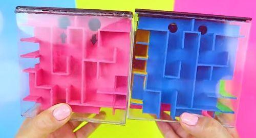Cubo Mágico, Laberinto y Hucha al mismo Tiempo