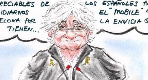 El DISCURSO de Clara Ponsatí