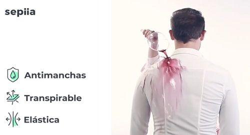 SEPIIA, Camisas que NO se Manchan