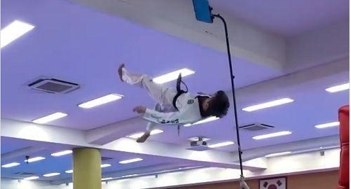 Wonjin Kim y su Judo Chilena Acrobática