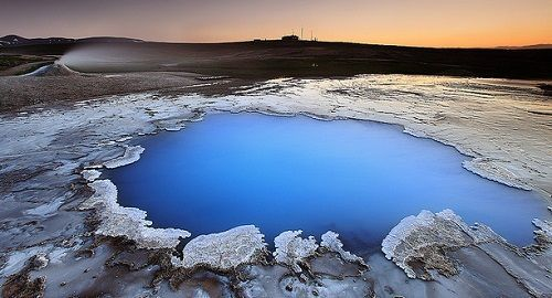 Las aguas termales de Hveravellir, Islandia
