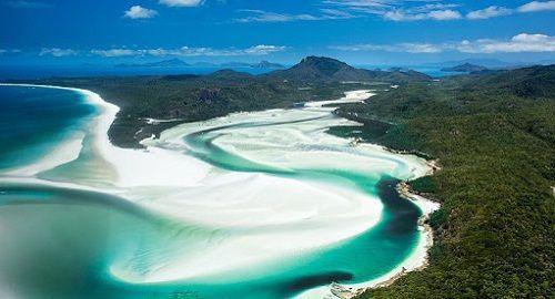 Playa de Whitehaven, Australia