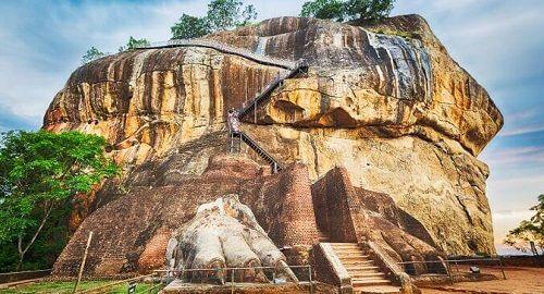 Ruinas de Sigiriya, Sri Lanka