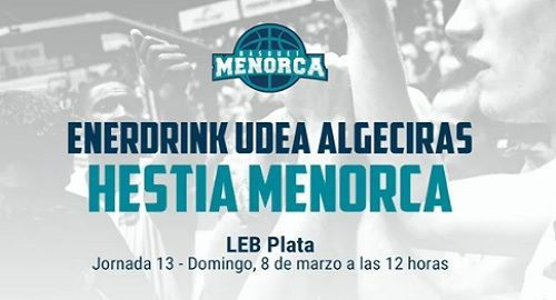 UDEA Algeciras 86 VS Hestia Menorca 84