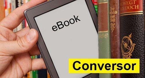 Convierte EBOOK's al formato que quieras