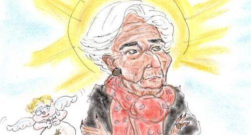 Chistine Lagarde al frente del BCE