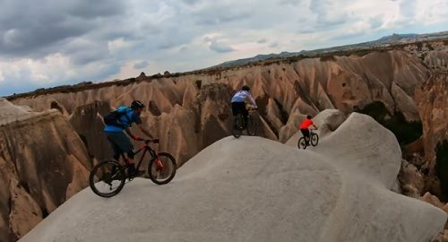 GoPro, Aventura MountainBike en Capadocia Turquia