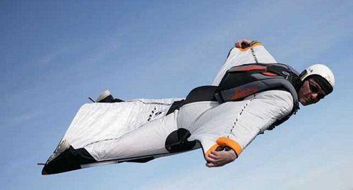 Wing Suit, Increíbles saltos de Hombres PÁJARO