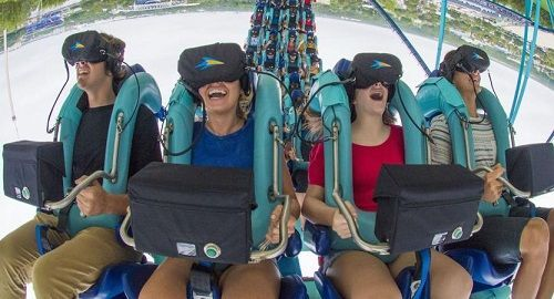 Kraken Unleashed Seaworld «Montaña Rusa» Orlando