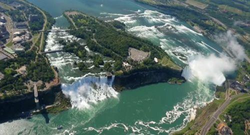 Las cataratas del Niágara, Canadá