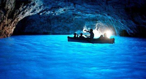 La Gruta Azul – Capri (Italia)