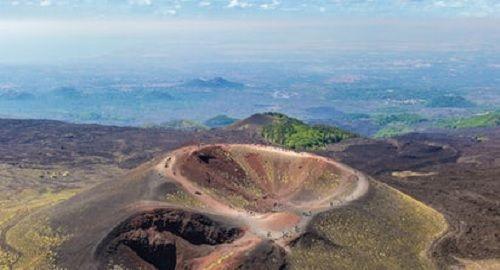 El volcán ETNA, Sicilia, Italia