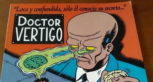 Dr Vértigo, historieta de MARTI en EL VÍBORA