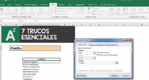 7 trucos avanzados en Excel